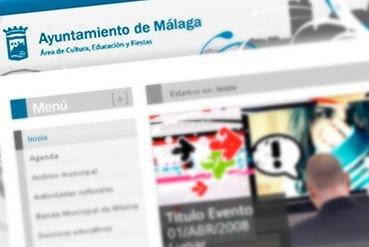 Ayto. Málaga. Área de Cultura, Educación y Deporte.